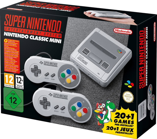 "Nintendo ""Nintendo Classic Mini SNES / Super Nintendo Classic"""