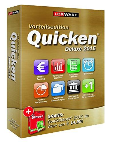 Quicken Deluxe 2015 Vorteilsed