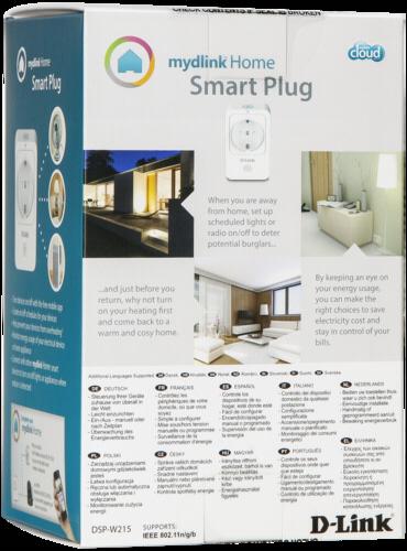 d link mydlink home dsp w215 smart home zwischenstecker. Black Bedroom Furniture Sets. Home Design Ideas