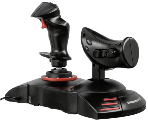 thrustmaster t flight hotas x thrustmaster hardware electronic grooves inc. Black Bedroom Furniture Sets. Home Design Ideas