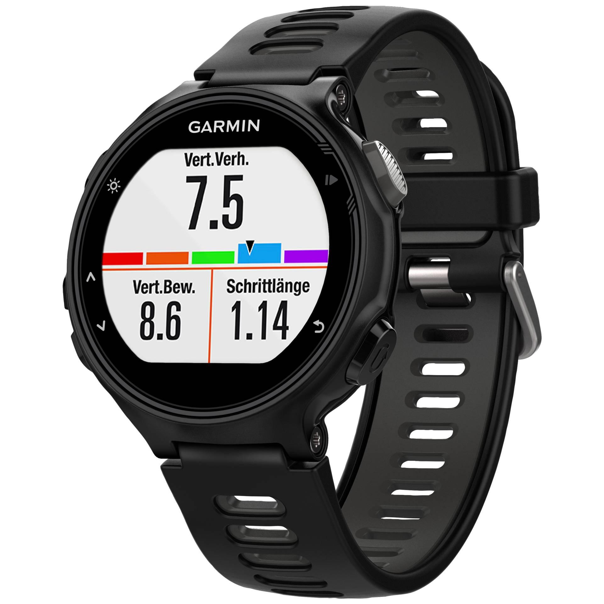 """Garmin""""Forerunner 735XT - GPS/GLONASS-Uhr - Fahrrad, Laufen, Schwimmen (010-01614-06)"""""""