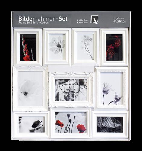 nielsen design nielsen 10er ornament set wei kunststoff 8999324 nielsen design hardware. Black Bedroom Furniture Sets. Home Design Ideas