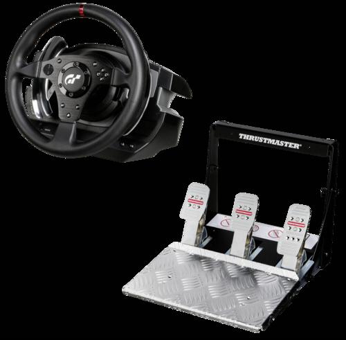 thrustmaster t500 rs lenkrad und pedale set pc und ps3. Black Bedroom Furniture Sets. Home Design Ideas