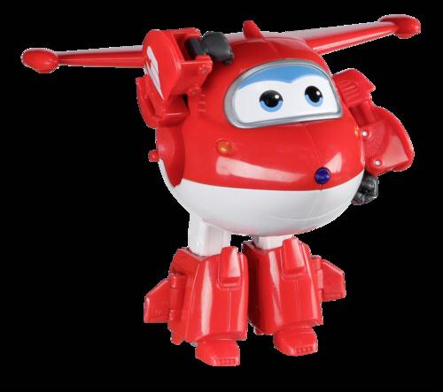 Auldeytoys YW710210 Super Wings Transforming Jett Spielzeugfigur