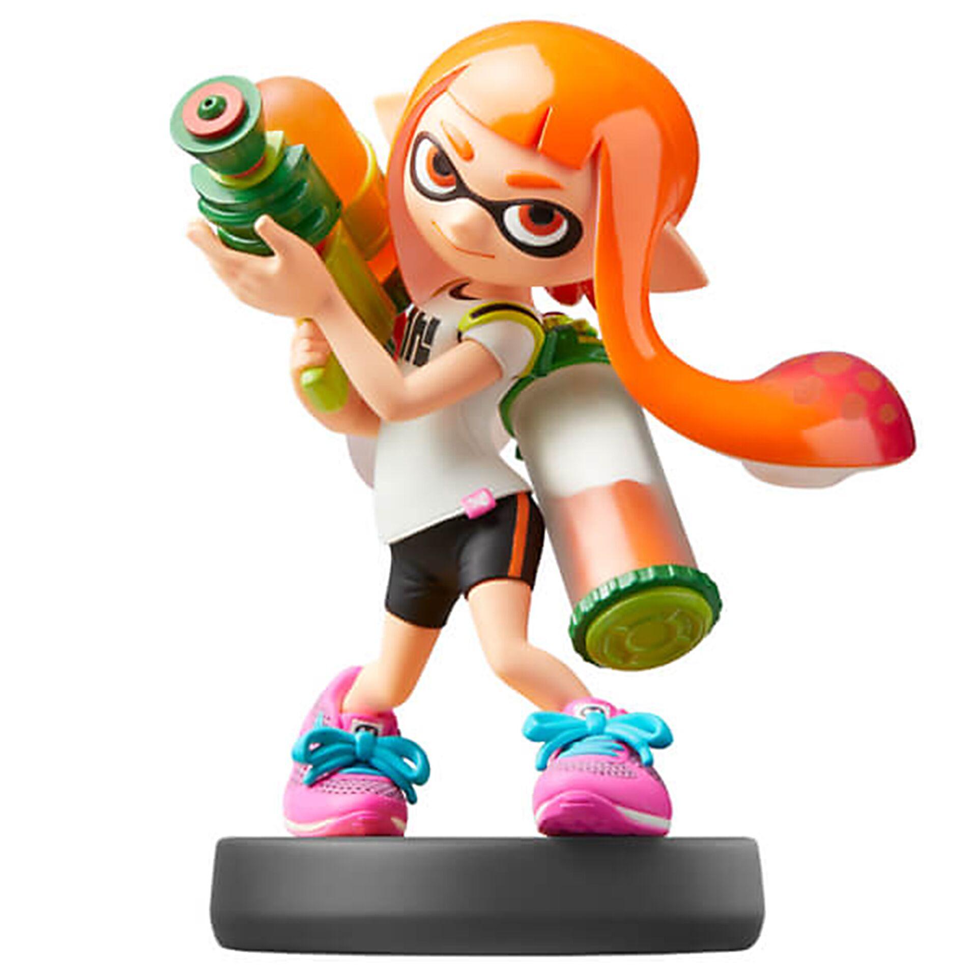 """Nintendo""""amiibo Splatoon Inkling-Mädchen-Spielfigur"""""""