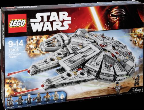 lego star wars 75105 millennium falcon lego toys spielzeug grooves inc. Black Bedroom Furniture Sets. Home Design Ideas