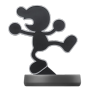 "Nintendo ""amiibo Smash Mr. Game & Watch #45 Figur [DE-Version]"""