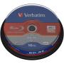 "Verbatim""1x10 Verbatim BD-RE Blu-Ray 25GB 2x Speed, Cakebox"""