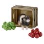 """Schleich""""Farm Life Mini-Schwein mit Äpfeln"""""""