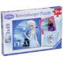 "Ravensburger 092697 - Elsa, Anna Und Olaf""Elsa, Anna & Olaf 3 X 49 Teile Puzzle Frozen"""