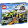 "LEGO - Volcano Exploration Base (60124)""City 60124 Vulkan-Forscherstation"""