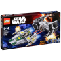 "LEGO ""Star Wars 75150 Vaders TIE Advanced vs. A-Wing Star"""