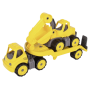"Big Power Mini Transport Mit Bagger""Power Worker Mini Transporter + Bagger"""