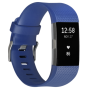 "Fitbit ""Fitbit Charge 2 small blue/silver"""