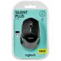 """Logitech""""M330 Silent Plus Wireless Maus, Schwarz"""""""