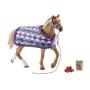 """Schleich""""Horse Club 42360 Englisches Vollblut mit Decke"""""""