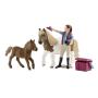 """Schleich""""Horse Club 42362 Pferdepflegerin mit Shettys"""""""