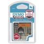 "Dymo""D1 Vinylband High Perf. 12 mm x 3 m schwarz auf orange"""