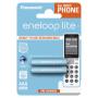 "Panasonic""1x2 Panasonic Eneloop Lite DECT Micro AAA 550 mAh BK-4LCCE/2DE"""