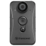 "Transcend ""DrivePro Body 20 - Camcorder - 1080p / 30 BpS - Flash 32 - interner Flash-Speicher - Wi-Fi (TS32GDPB20A)"""