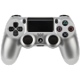 "Joypad Sony Dualshock 4 Wireless Controller Silber V2 (2017) ""DUALSHOCK 4 Wireless Controller v2, Gamepad"""