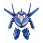 "Super Wings""AGENT CHASE Transform Spielzeugfigur Medium"""