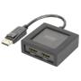 """Digitus""""DisplayPort auf HDMI Splitter 4K 1x2, Splitter & Switches"""""""