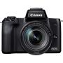 """Canon""""EOS M50 - Digitalkamera - spiegellos - 24,1 MPix - APS-C - 4K / 25 BpS - 8,3x optischer Zoom EF-S 18-150mm IS STM-Objektiv - Wi-"""""""