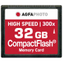 "Agfaphoto""Compact Flash 32GB High Speed 300x MLC"""