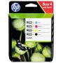 """Hewlett Packard""""HP Original 903XL Tintenpatronen Multipack schwarz, cyan, magenta, gelb (3HZ51AE) [EURO-Version]"""""""
