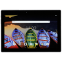 "Lenovo""TB3-X70F Android-Tablet - 25.7 cm (10.1"" ) - Wi-Fi - Schwarz - 1.3 GHz Quad Core Android™ - 6.0 Marshmallow - 1920 x 120 (ZA0X02"""