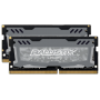 """Ballistix""""Sport LT 32GB Kit DDR4 16GBx2 2400 SODIMM 260pin grey"""""""