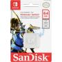 "Sandisk""MicroSDXC 100MB 64GB Nintendo V2 SDSQXAT-064G-GNCZN"""