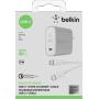 "Belkin""Quick Charge 4.0 USB-C Netzladegerät 27W inkl. 1,2m Kab"""