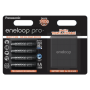 "Panasonic""1x4 Panasonic Eneloop Pro Mignon AA 2500 mAh + Akkubox"""