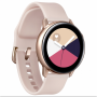 """Samsung""""Galaxy Watch Active - Rotgold - intelligente Uhr mit Band - Flouroelastomer - Anzeige 2.81 cm (1.1"""") - 4 GB - Wi-Fi, NFC, Blueto"""""""