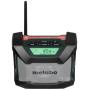 "Metabo""UKW Baustellenradio R 12-18 Schwarz, Grün, Grau (600776850)"""