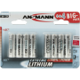 """Ansmann""""4+4 Ansmann Extreme Lithium AA Mignon LR 6 Big Pack"""""""