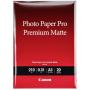 """Canon""""PM-101 Pro Premium Matte A 3, 20 Blatt, 210 g"""""""