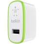 "Belkin""Netzadapter USB 2,4 A weiß iPhone iPad iPod"""