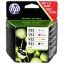 """Hewlett Packard""""HP C2P42AE Multipack BK/C/M/Y No. 932 XL und 933 XL [EURO-Version]"""""""