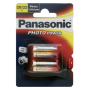 "Panasonic ""1x2 Panasonic Photo CR 123 A Lithium"""