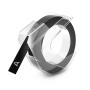 "Dymo""3D Prägeband 9 mm x 3 m Plastik glänzend schwarz"""