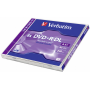 "Verbatim""DVD+R Double Layer 8x Speed, Jewel Case, 8,5GB [DE-Version, Regio 2/B]"""