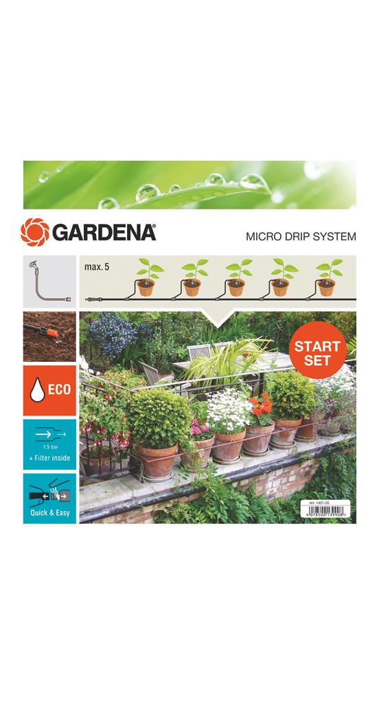 "Gardena""MDS Start-Set Pflanztöpfe S 13000, Tropfsysteme"""
