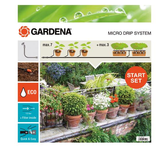 "Gardena""Start-Set Pflanztöpfe M automatic, Bewässerungsautomat"""