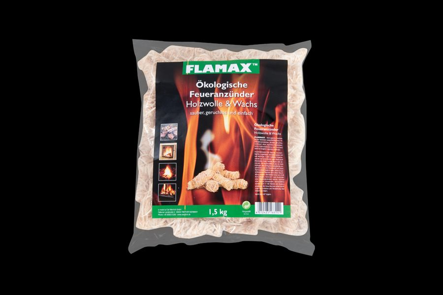 """Flamax""""Flamax Holzwolle & Wachs 1 kg 018324 S.248"""""""
