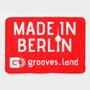 "Grooves.land Merchandise""Tablet & Smartphone Display Cleaner MADE IN BERLIN"""