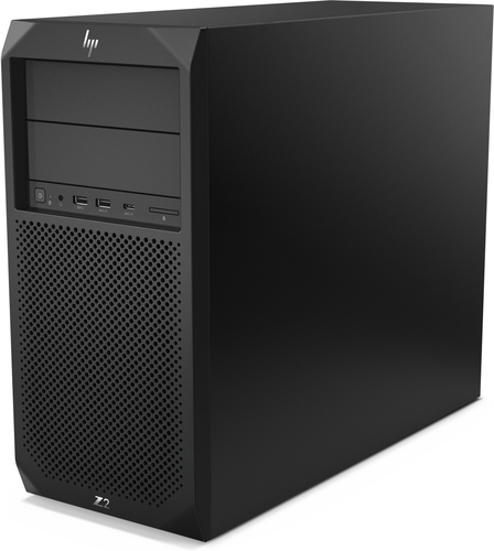 "Hp""HP Workstation Z2 G4 - MT - 1 x Core i7 8700K / 3,7 GHz - RAM 16GB - SSD 256GB - DVD-Writer - UHD Graphics 630 - GigE - Win 10 P [DE-Version]"""